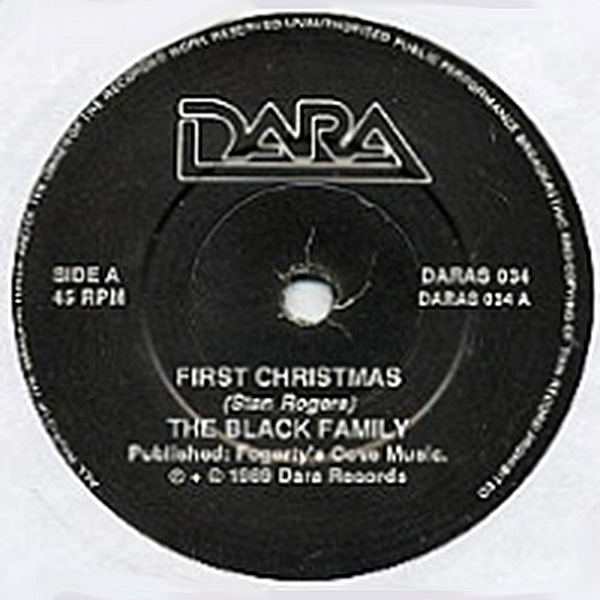 Album cover of The Black Family - First Christmas