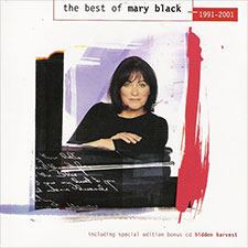 Album cover for The Best of Mary Black 1991-2001 & Hidden Harvest