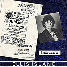 Album cover for Ellis Island