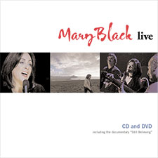 Album cover for Mary Black Live