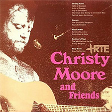 Album cover for Christy Moore and Friends