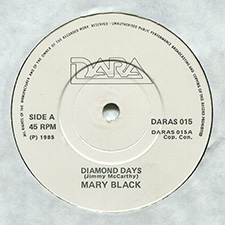 Album cover for Diamond Days