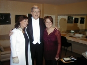 With Marvin Hamlisch and Eileen Ivers