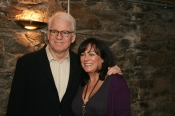 Steve Martin and Mary Black