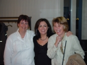 With Nele Geurden and Toni Winten